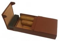 Хьюмидор кожаный Credo коричневый
