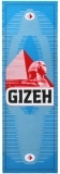 Бумага для самокруток Gizeh Blue