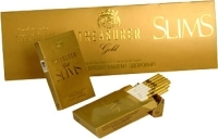 Сигареты Treasurer Slim`s Gold