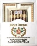 Набор сигары и пепельница Don Diego