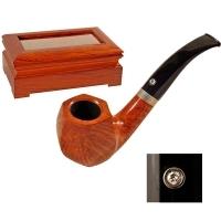 Курительная трубка Vauen Extra 1725 инкрустирована бриллиантом