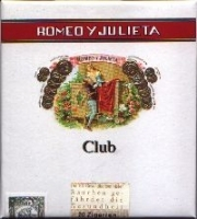 Сигариллы Romeo Y Julieta Club
