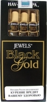 Сигариллы Jewels Black and Gold